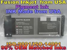 cartridge fits Epson Stylus Pro 4000 4400 4800 7600 9600 Matte Black Pigment Ink