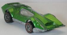Redline Hotwheels Lime Green 1970 Bugeye