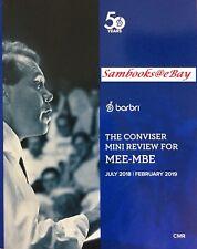 ???*LIKE NEW* 2018~2019 Barbri MEE - MBE (UBE) The Conviser Mini Review (CMR)???