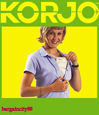 New Korjo Security Money Pouch Neck Wallet Travel Passport Card Holder Bag MP65