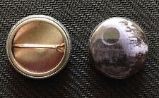 "Star Wars - Death Star - 1"" Pinback Button Pin - Buy 2 Get 1 Free -"