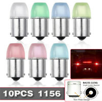 10PCS 1W 1156 BA15S Car Bulb Turn signal Reversing Brake Light Taillight  F D