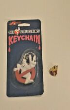 1989 Ghostbusters 2 Keychain and Pin New
