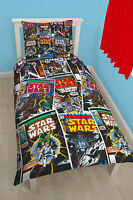 Official Star Wars Single Panel/Rotary Duvet Cover Bed Sets New Gift 10 Designs+
