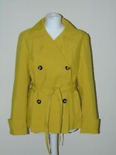 MARKS & SPENCER COLLECTION LADIES YELLOW RAIN JACKET SIZE 10 NEW WITH TAGS