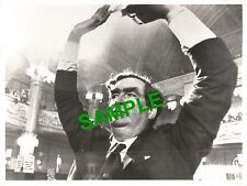 ORIGINAL PRESS PHOTO DENIS HEALEY LABOUR CHANCELLOR OF THE EXCHEQUER BLACKPOOL