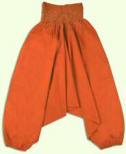 Pantalones de niña de 2 a 16 años de naranja