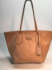 COACH TAXI ZIP TOP TOTE IN LEATHER  BAG HANDBAG
