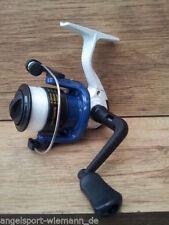 Moulinets de pêche bleus à tambour fixe