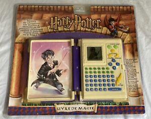 HASBRO TIGER 2001 HARRY POTTER Livre De Magie LCD GAME NEUF BLISTER FRANÇAIS