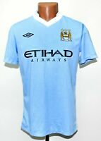 MANCHESTER CITY 2011/2012 HOME FOOTBALL SHIRT UMBRO SIZE S ADULT