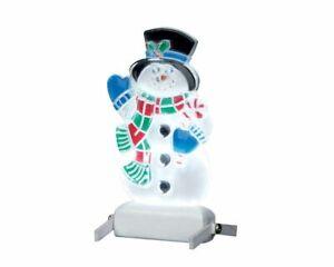 Lemax Christmas Village Snowman Yard Light 04242 Accessory