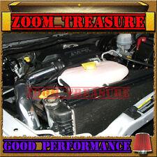 BLACK RED 2002-2010 DODGE RAM 1500/2500/3500 3.7L 4.7L 5.7L COLD AIR INTAKE KIT