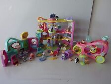 LITTLEST PET SHOP  MAISON CIRQUE + GET BETTER CENTER + VOITURE +LPS + ACC -n°41