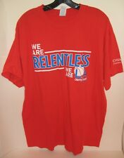 NBA LA Staples Center SGA Clippers Game 7 Playoffs Spurs RELENTLESS XL Shirt '15
