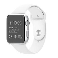 Apple Watch Sport 42mm Silver Aluminum Case White Sport Band (MJ3N2B/A)
