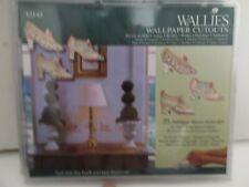 Wallies Antique Princess Victorian Shoe Wallpaper Cutouts New  Decals 25pcs