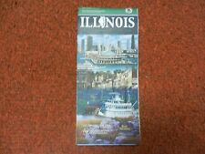 Illinois Official Highway Map 2007-2008 Rod Blagojevich Governor USED