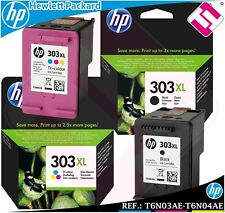 TINTA PACK NEGRA TRICOLOR 303XL ORIGINAL IMPRESORAS HP ENVY PHOTO CARTUCHO