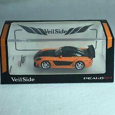1/64 Peako64 Peako Mazda RX-7 Veilside Orange / Black Diecast