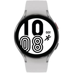 Samsung Galaxy Watch 4 44mm Smartwatch SM-R870NZSCXAA w/ Black Silver Bands