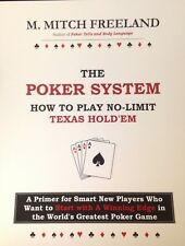 (ebook)THE POKER SYSTEM: How to Play No-Limit Texas Hold'em by M. Mitch Freeland