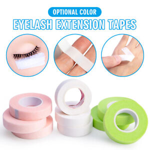 1 Roll Eye Lash Tape for Eyelash Extension Breathable Micropore Fabric Eye Tape