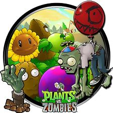 Plants Vs Zombies Iron On Transfer For T-Shirt & Other Light Color Fabrics #2