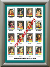 HOLLAND - WORLD CUP 74 - REPRO STICKERS A3 POSTER PRINT
