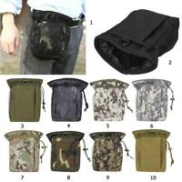 Hunting Hiking Military Molle Belt Tactical Magazine Dump Utility Pouch Bag Pack