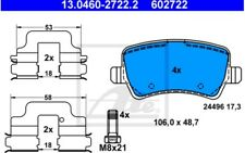 4x ATE Pastillas de Freno Traseras Para FORD S-MAX 13.0460-2722.2
