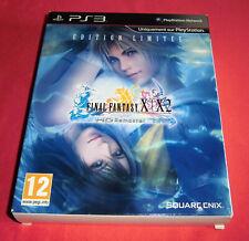 Playstation PS3 : Final Fantasy X / X-2 HD Remaster Edition Limitée [Pal-Fr] JRF