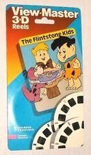 View-Master THE FLINTSTONE KIDS 3 reel set MOC SEALED Tyco 1989 CARTOON