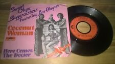 "7"" Pop Sweet Okay Supersisters ft Los Alegres - Coconut Woman POLYDOR"
