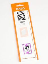 DAVO EASY TRANSPARENT STROKEN MOUNTS T37 (215 x 41) 18 STK/PCS