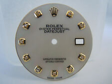White MOP Custom Dial for Rolex Datejust 36MM Quickset Cal 3035, 3135