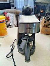 Brentwood Espresso and Cappuccino Maker Machine, Black - NEW but without box