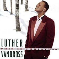 LUTHER VANDROSS THIS IS CHRISTMAS LP Vinyl NEU