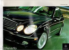 Original 2004 Mercedes Benz Dealer Sales Brochure  G CL E C SL M CLK  40 Page