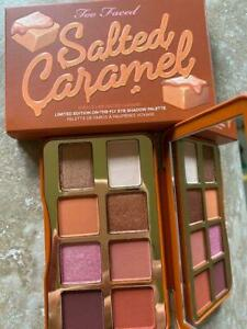 NIB TOO FACED Salted Caramel Limited Edition On-the-Fly Eye Shadow Palette