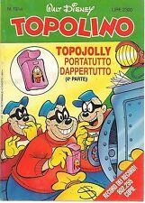 TOPOLINO N° 1914 - 2 AGOSTO 1992