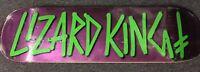 Lizard King Deathwish Skateboards Deck Baker Andrew Reynolds Jim Greco Real Dog