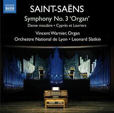 Saint-Saens / Warnie - Sym 3 Organ Sym Danse Macabre Cypres Et Lauriers [New CD]