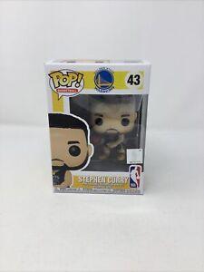 Funko pop! Golden State Warriors NBA Stephen Curry #43 + Pop Protector