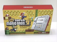 Nintendo 2DS Console New Super Mario Bros 2 Pre-Installed Limited Edition ~NIB~