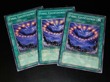 YUGIOH FINAL COUNTDOWN MIXED SETS X3 PLAYSET CP01/DCR/DR1 COMMON