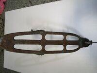 1936 Monark Aluminum Frame Silver King Ladies Bicycle Steel Rack carrier