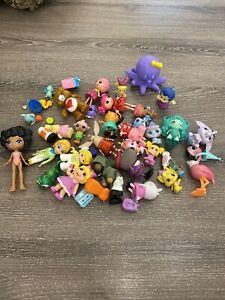 Lot Of Random PVC Toys Pepppa Pig Little Pets Care Bear