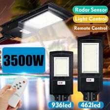 3500W 350000LM LED Solar Street Light PIR Motion Sensor Outdoor Wall  L H