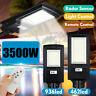 3500W 350000LM LED Solar Street Light PIR Motion Sensor Outdoor Wall Lamp+Remote